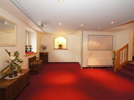Empfangshalle im Hotel Lamm Immenstadt