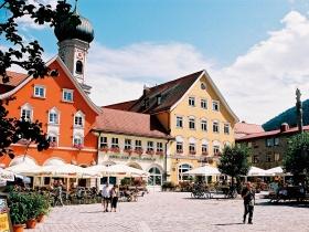 Marienplatz in der Residenzstadt Immenstadt im Allgäu