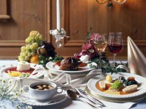Abendessen im Hotel Lamm