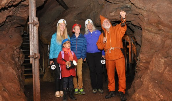 Erzgruben-Erlebniswelt am Grünten
