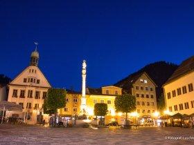 Abend in Immenstadt im Allgäu