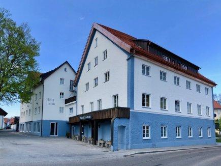 Seitenansicht Hotel Lamm in Immenstadt / Allgäu