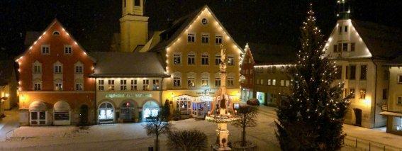 Marienplatz Immenstadt Weihnachten