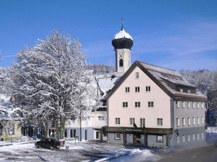 Hotel Lamm Immenstadt im Winter