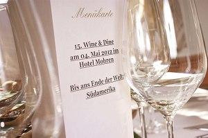 15. Wine und Dine im Hotel Mohren