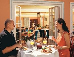 Frühstück im Hotel Mohren