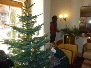 Unser Christbaum