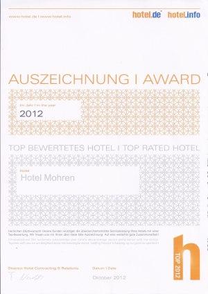 Top bewertetes Hotel bei hotel.de