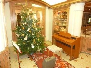 Am Weihnachtsbaum, die Lichter brennen...