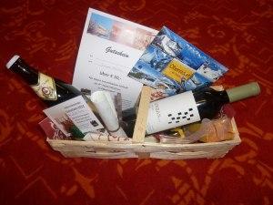 Der Adventskalender-Geschenkkorb