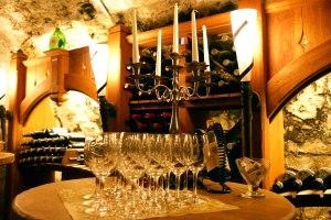 Einzigartige Atmosphäre im Mohren Weinkeller