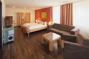 Deluxe-Zimmer im Hotel Mohren