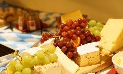 Käseplatte beim Bayerischen Abend