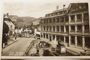 Das Hotel Mohren von früher