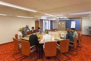 Gruppenarbeit im Hotel Mohren