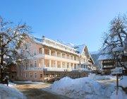 Das Hotel Mohren im Winterkleid
