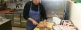 Der Küchenchef am Werk