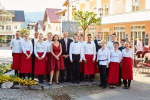 Das Team vom Hotel Mohren