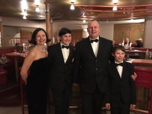 Familie Brandt begrüßt seine Gäste