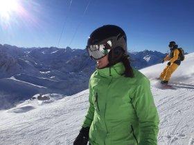 Ein strahlend schöner Skitag