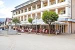 Terrasse des Hotel Mohren am Makrtplatz