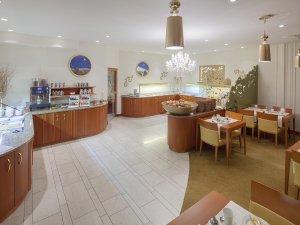 Das große Frühstücks Buffet im Hotel Mohren