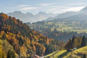 Goldener Herbst im Allgäu