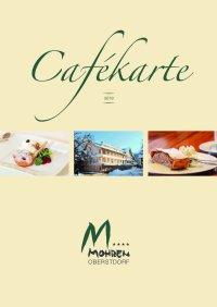 Hotel Mohren Cafekarte 2019
