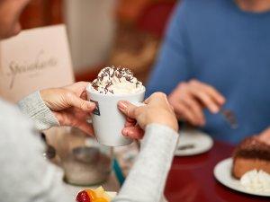 Kaffeezeit im Hotel Mohren