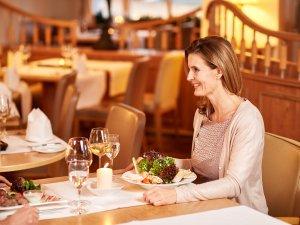 gemütliche Atmosphäre im Restaurant