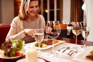 Feine Speisen im Hotel Mohren