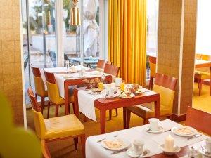 Frühstücksraum im Hotel Mohren