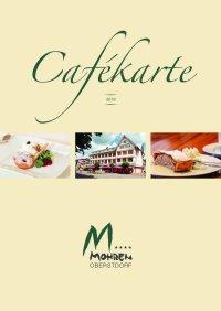 Cafekarte Sommer 2019
