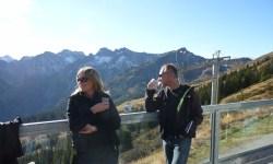 Sonnenbaden auf dem Fellhorn im November!