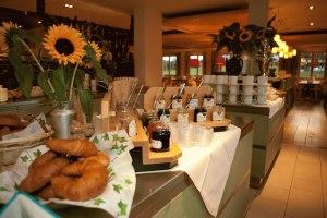 Frühstücksbuffet im Hotel Oberstdorf