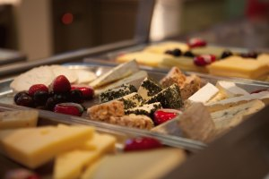 Das Käsebuffet im Hotel Oberstdorf