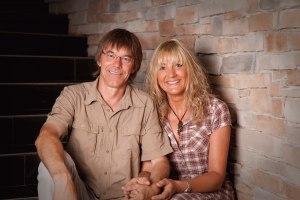 Ihre Gastgeber Susanne und Sebastian Reisigl