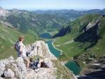 3-Seen-Blick von der Lachenspitze