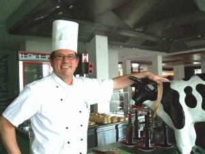 Küchenchef Lothar Jakobi