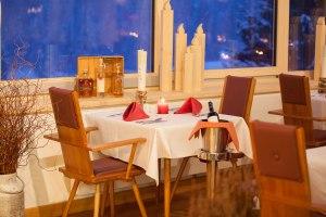 Speisen im neuen Wintergarten