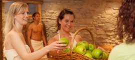 Wellness Rezeption im Hotel Oberstdorf
