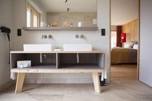 Badezimmer im Allgäu Chalet