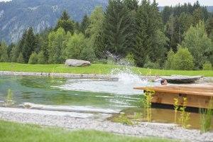 Naturbadesee mit 360 m² Wasserfläche