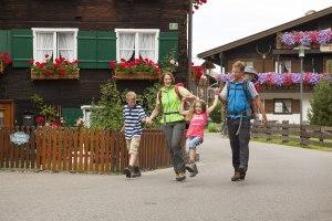 Spaziergang durch Oberstdorf