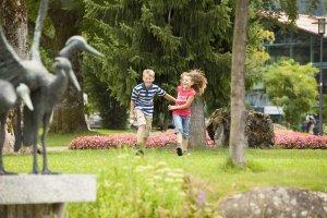 im Oberstdorfer Kurpark
