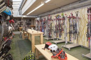 Ski- und Bike-Serviceraum