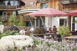 Terrasse am Hotel Oberstdorf