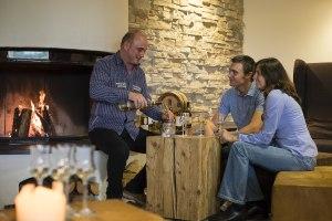 Whisky Tasting an der Kaminbar