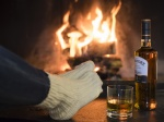 Whisky und Feuer