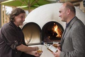 Genussmanager Steffen Peres und Küchenchef Michael